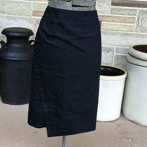 Lane Bryant Mock Wrap Skirt